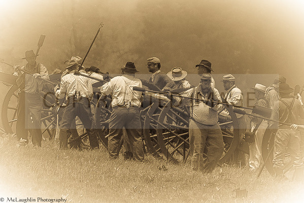 150th Anniversary of the Battle of Gettysburg -- Reenactment