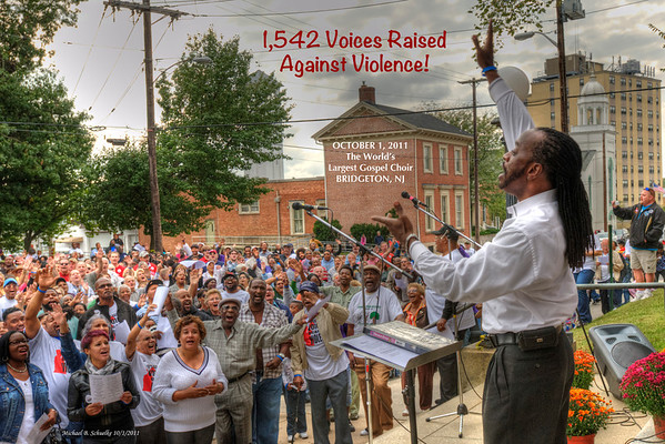 1,542 Voices Raised Against Violence