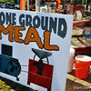 "Stone ground corn meal retains some of the hull and germ, lending more flavor and nutrition to recipes. It is more perishable, but will store longer if refrigerated. <br /> <br /> The ""152nd MS STATE FAIR"" 2011<br />  Mississippi Fairgrounds<br />  Jackson, MS"