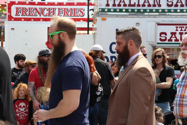 '16 Maple Festival Amazing Beards!