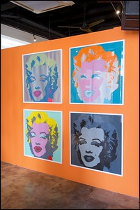 Andy Warhol: Social Circus Slade @ The Row