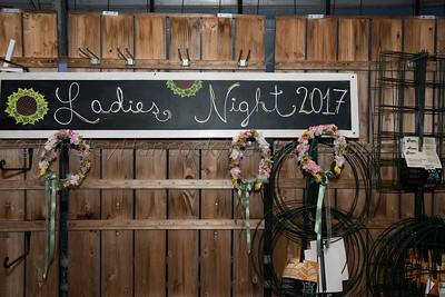 Ladies Night at Bartlett's Farm in honor of Liz de Souza
