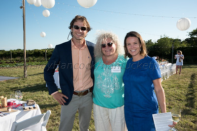Nantucket Community Farm Gala, Sustainable Nantucket, 168 Hummock Pond Road, Nantucket, Massachusetts, July 26, 2017