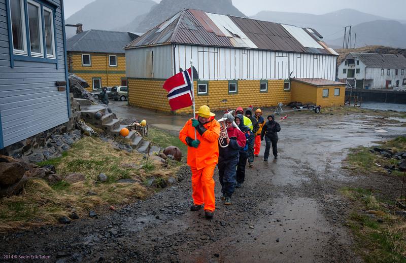Approaching Vestervika, Nyksund