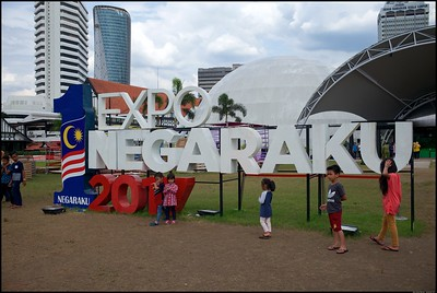 Expo Negaraku at Dataran Merdeka