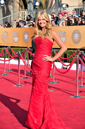 The 18th Annual Screen Actors Guild Awards Red Carpet & Ceremony was held on January 29, 2012 at the Shrine Auditorium