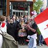 VM i mustasje, her en kanadiske delegasjonen.