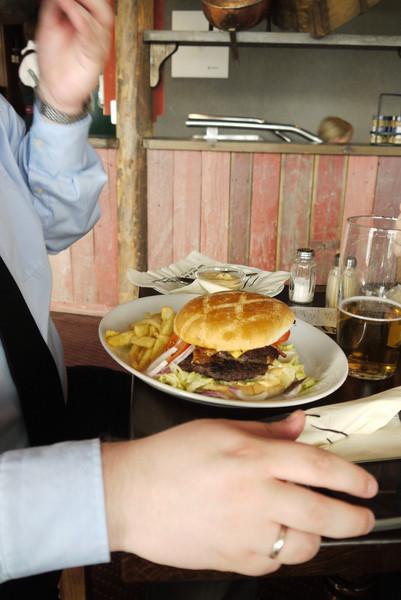 Burger...