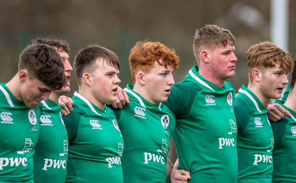 Under 18's Six Nations Festival, Ireland U18's v Italy U18's at Centre of Sporting Excellence in Ystrad Mynach, South Wales on Saturday 31 March 2018.   Pictures by Simon Latham