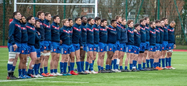 Under 18's Six Nations Festival, Wales U18's v France U18's at Centre of Sporting Excellence in Ystrad Mynach, South Wales on Saturday 31 March 2018.   Pictures by Simon Latham