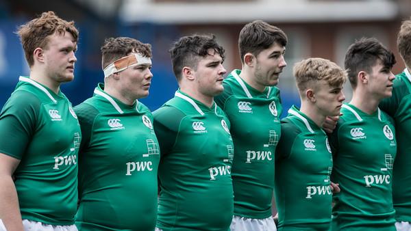 18-04-08 Ireland U18's v Scotland U18's