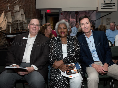 Common Ground at the Nantucket Whaling Museum with Donna Brazile, Chris Shays &  Bruce Bond, Nantucket, Massachusetts, August 15, 2019