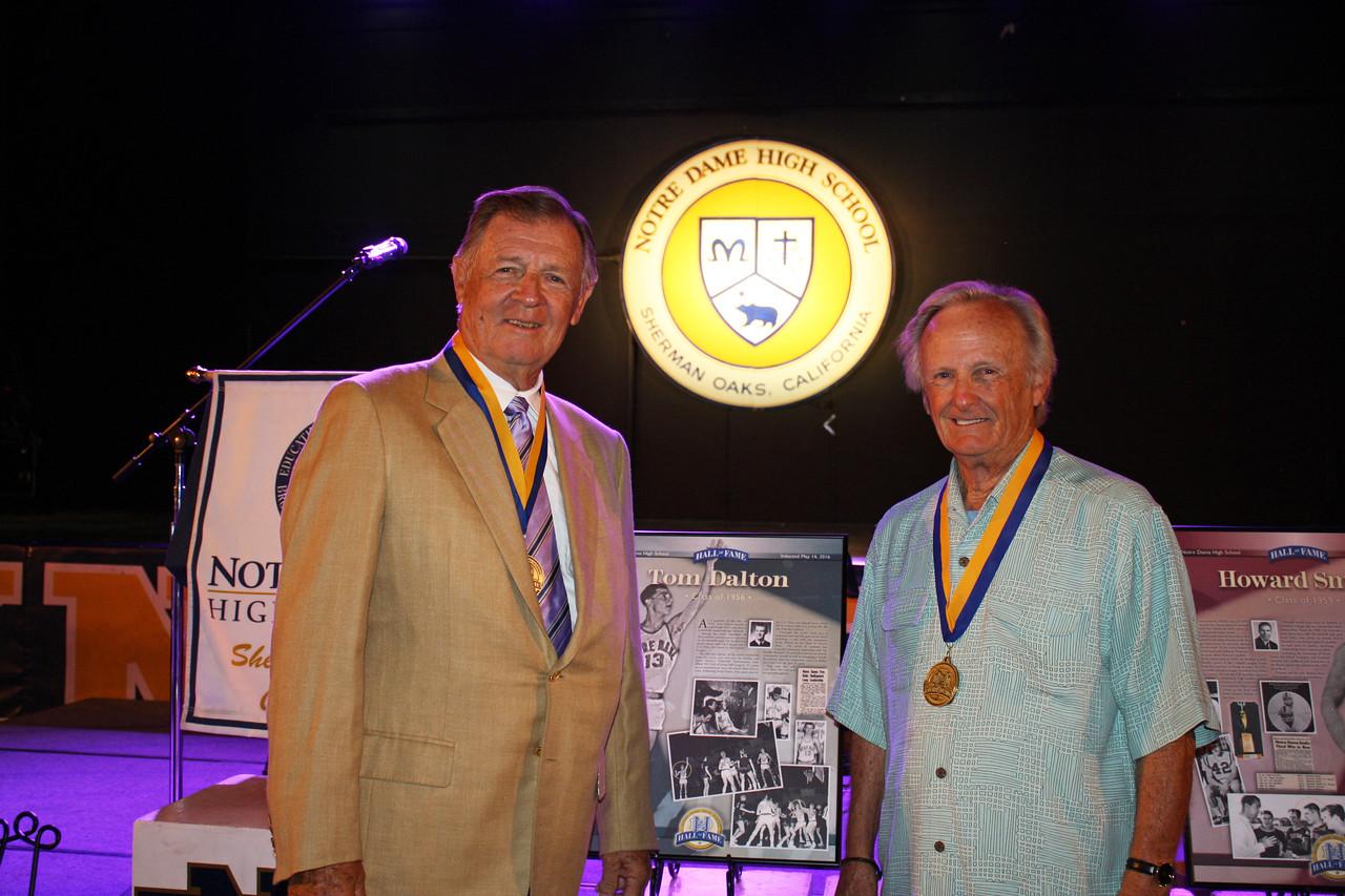 Left to right: Tom Dalton '56 and Dick Dalton '55.