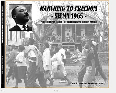 Book cover - Marching to Freedom - Selma 1965