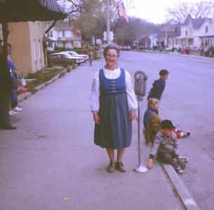 Grandma Clara in her Norwegian garb