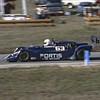"""""""Horst Kwech won the under-2-liter category and finished fifth overall in his Toleman TG280-Hart.""""<br /> <br /> Photo from the 1982 SCCA Can Am races at Laguna Seca, CA<br /> <br /> Photo by Dan Wildhirt used with permission. <a href=""""http://photos.wildhirt.com/"""">http://photos.wildhirt.com/</a>"""
