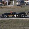 """""""Canadian John Graham's March 811-Ford was credited with eighth place after crashing out on lap 55. The car was backed by Canadian folksinging legend Gordon Lightfoot.""""<br /> <br /> Photo from the 1982 SCCA Can Am races at Laguna Seca, CA<br /> <br /> Photo by Dan Wildhirt used with permission. <a href=""""http://photos.wildhirt.com/"""">http://photos.wildhirt.com/</a>"""