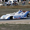 """""""Tom Foster's Ralt RT1-Hart (here being lapped by Al Unser Jr.) finished fourth in the under-2-liter category, ninth overall.""""<br /> <br /> Photo from the 1982 SCCA Can Am races at Laguna Seca, CA<br /> <br /> Photo by Dan Wildhirt used with permission. <a href=""""http://photos.wildhirt.com/"""">http://photos.wildhirt.com/</a>"""