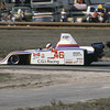 """""""Fifth-place qualifier John Morton's race came to an end after 48 of 60 laps due to a mechanical failure.""""<br /> <br /> Photo from the 1982 SCCA Can Am races at Laguna Seca, CA<br /> <br /> Photo by Dan Wildhirt used with permission. <a href=""""http://photos.wildhirt.com/"""">http://photos.wildhirt.com/</a>"""