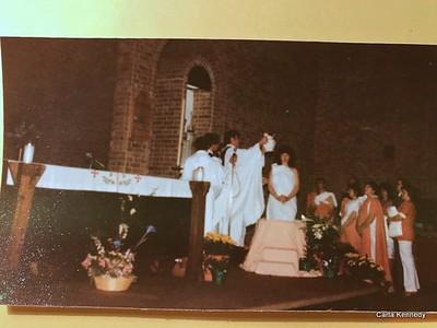 1986 Mine and David's Catholicism