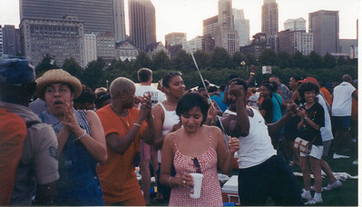 1999-6-25 EWF at The Taste of Chicago