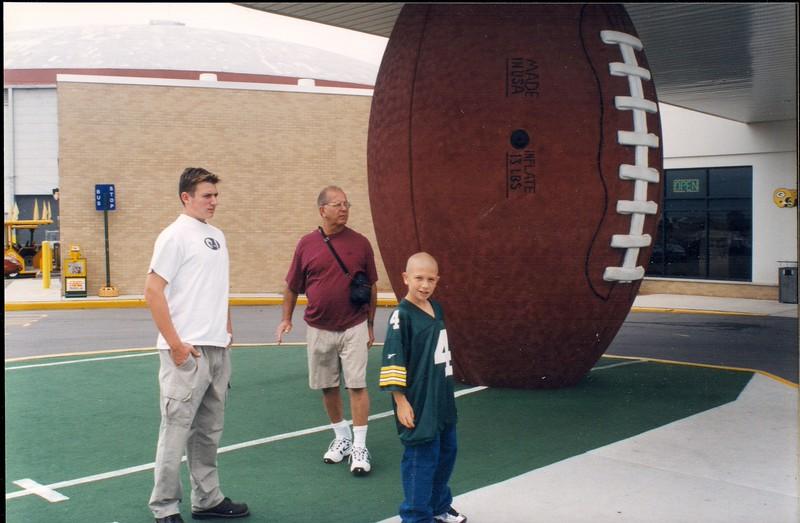 19980825 Visit to Lambeau Field (6)