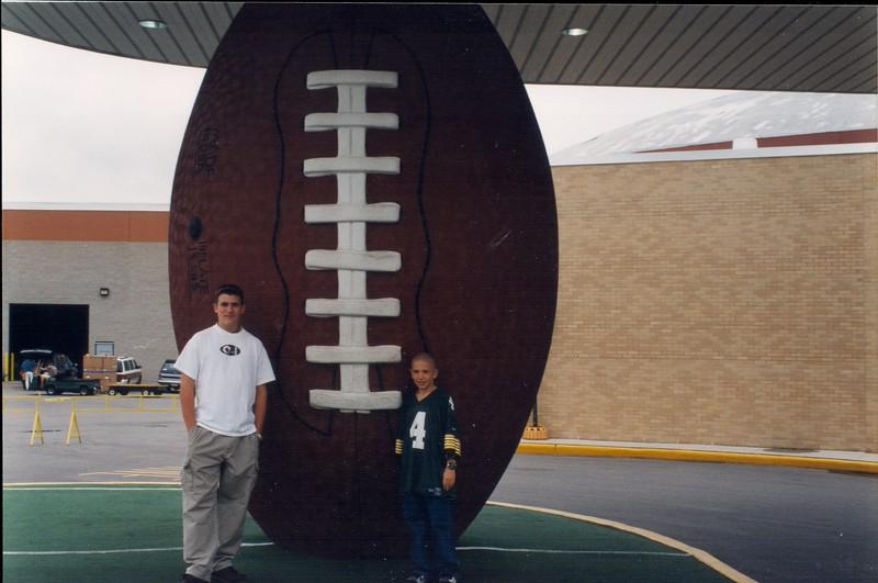 19980825 Visit to Lambeau Field (25)