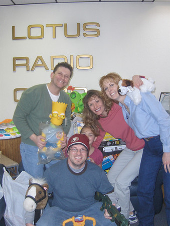 1st Fernley Flood Toy Drive before Toys Were Stolen