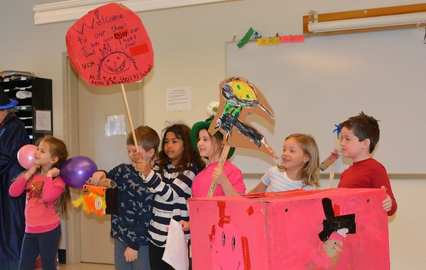 1st Grade Odyssey of the Mind Primary Team