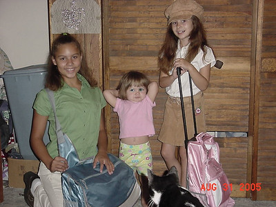 1st day of school 2005
