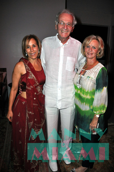 Bonnie Clearwater, Norman Braman, Irma Braman