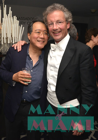 2-3-17 - Yo-Yo Ma with the Cleveland Orquestra at the Arsht Center - Post Event