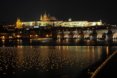 Hradčany with Charles bridge