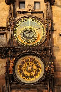 Prague Orloj - astronomical clock
