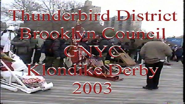 2003 Klondike Derby ,  Coney Island Beach, Brooklyn NY