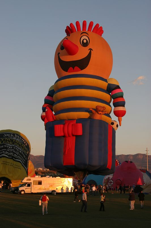 USA, New Mexico, Albuquerque, 2005 Albuquerque International Balloon Fiesta
