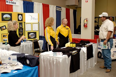 PHI Air Medical booth. Kentucky EMS Conference and Expo.