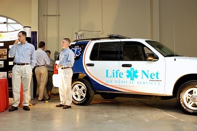 LifeNet Air Medical booth. Kentucky EMS Conference and Expo.