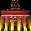 Washington D.C., George Washington Masonic Memorial, First Night Alexandria New Years Celebration, at Night