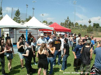 Beer garden - VANS Warped Tour - Fullerton, CA - July 1, 2004