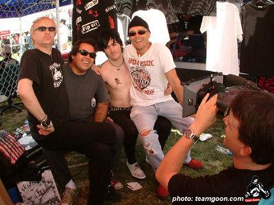 The Skulls interview - VANS Warped Tour - Fullerton, CA - July 1, 2004