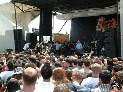 Flogging Molly - VANS Warped Tour - Fullerton, CA - July 1, 2004