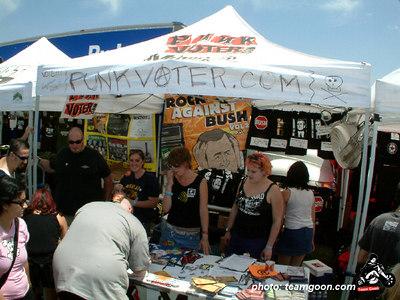 Punk Coter dot com - VANS Warped Tour - Fullerton, CA - July 1, 2004