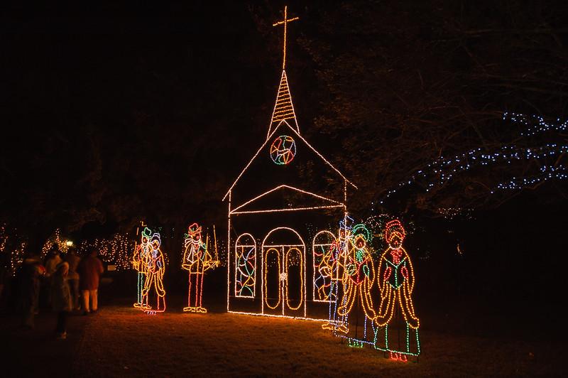 20041218 Bellingrath Christmas Lights 003