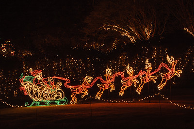 20041218 Bellingrath Christmas Lights 035