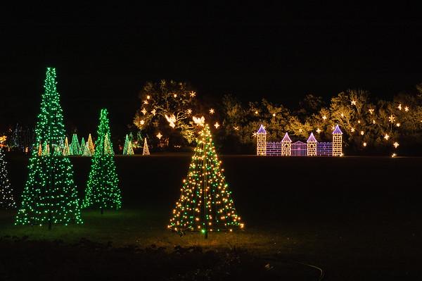 20041218 Bellingrath Christmas Lights 012