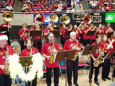 .... hmm, notice the hole in Tuba Row -- where's Dennis? :-)