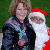 Robin Whalen and Santa!