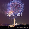 July 4th Fireworks on the National Mall