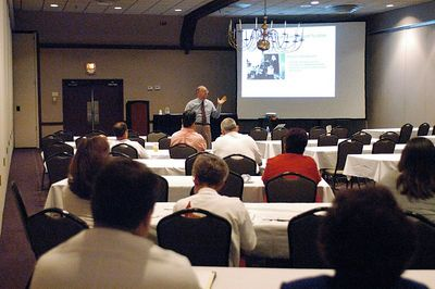 Kentucky EMS Conference: Dick Bartlett addresses the Elected Officials and EMS Managers Pre-Conference, Owensboro.